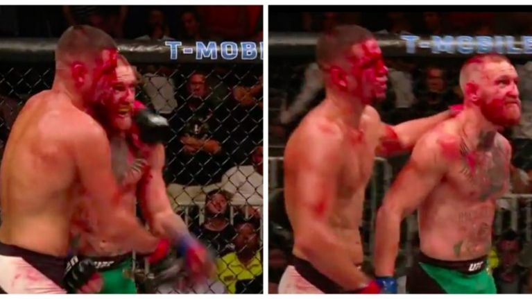 This moment shows the massive respect between Conor McGregor and Nate Diaz