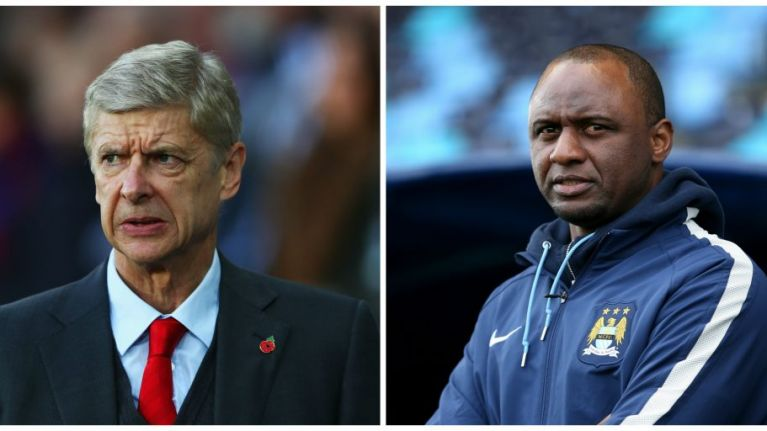 Patrick Vieira wants to know why more ex-Arsenal players aren't working at the club