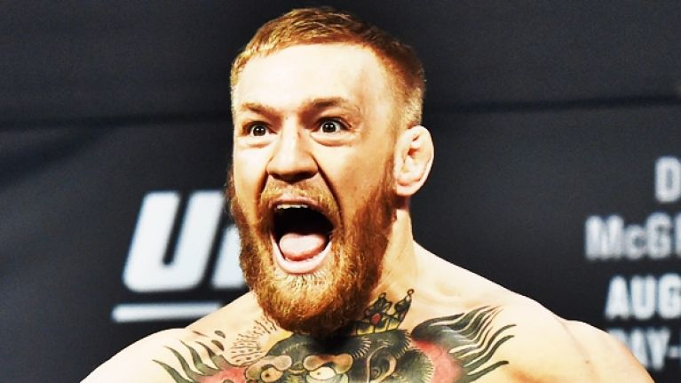 So many people think they saw Conor McGregor's penis during his win over Nate Diaz
