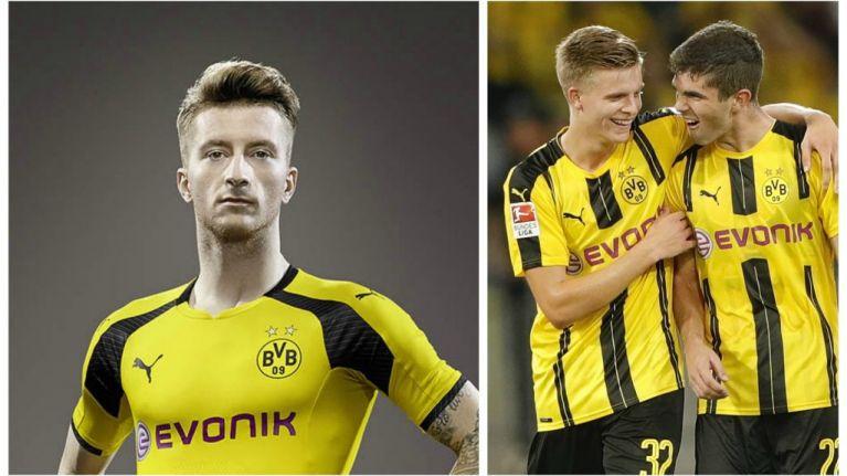 c487977e7e4 Borussia Dortmund s brand new kit for the Champions League is sensational