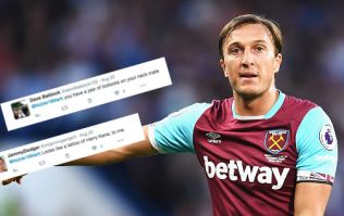 This West Ham fan's Mark Noble tattoo is something else