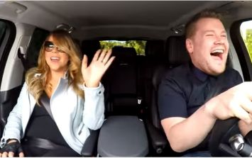 Mariah Carey didn't even realise she was supposed to sing on Carpool Karaoke