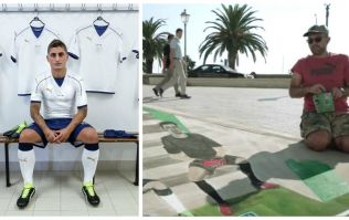 Italy's stylish new away kit unveiled with brilliant 3D street art
