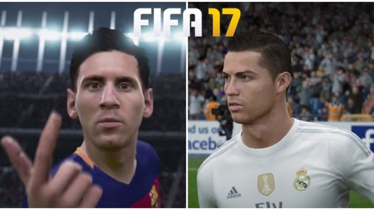 FIFA 17 player ratings have caused a shitstorm in the Ronaldo v Messi debate