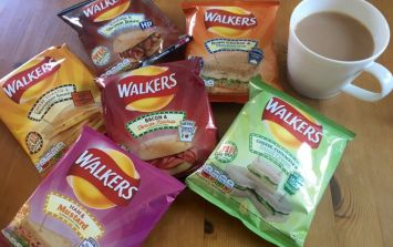 People quite can't get their head around Walkers' new sandwich flavoured crisps
