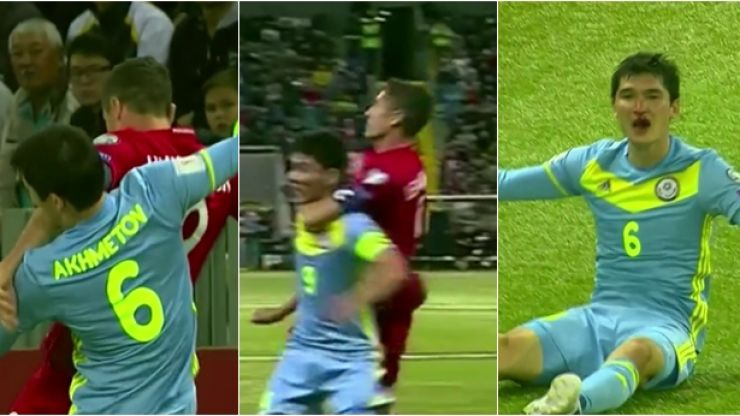 This is what happens when you piss off Robert Lewandowski during a World Cup qualifier
