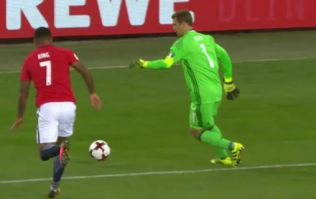 Manuel Neuer marked his first game as Germany captain with a sublime Cruyff turn