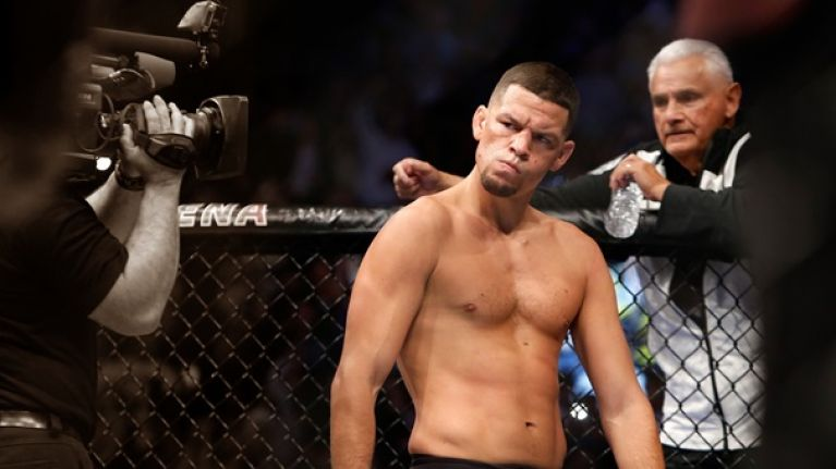 Nate Diaz's coach offers conspiracy theory about Conor McGregor's UFC 202 win