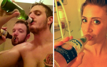 The shower beer is a thing, and you all need to try it