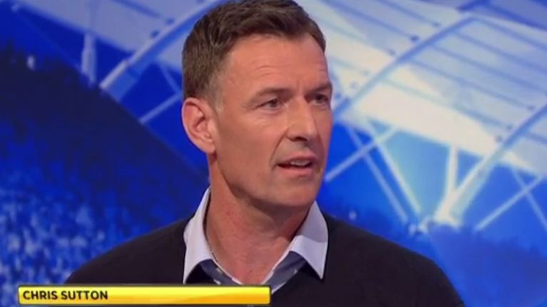 Football fans are divided 50/50 on whether they love or hate Chris Sutton as a pundit
