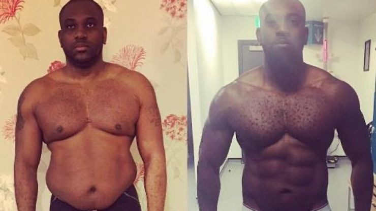 How this Nottingham dad shredded two-thirds of his body fat to get back in shape