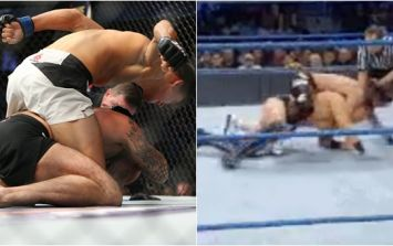 WWE have taken a very cheeky dig at CM Punk's swift submission defeat at UFC 203