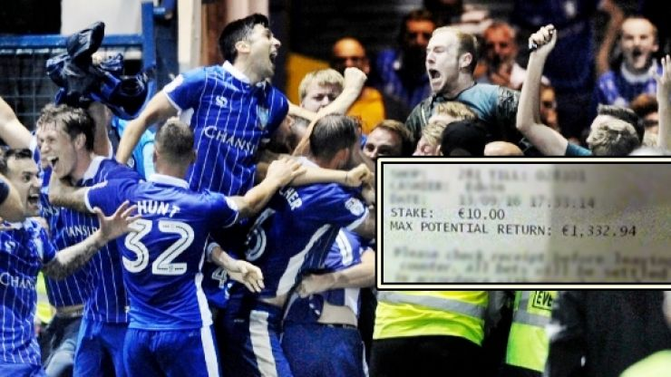 Punter misses out on £1,100 accumulator payout after Sheffield Wednesday's 96th minute winner