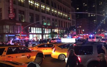 Explosion in New York injures at least 29 people as wired 'second device' is found