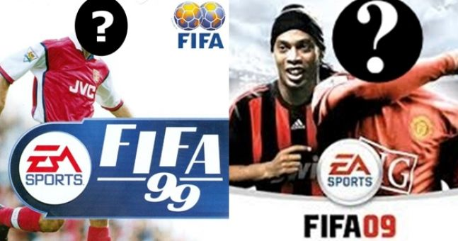 Can you name all these hidden Fifa cover stars through the years?
