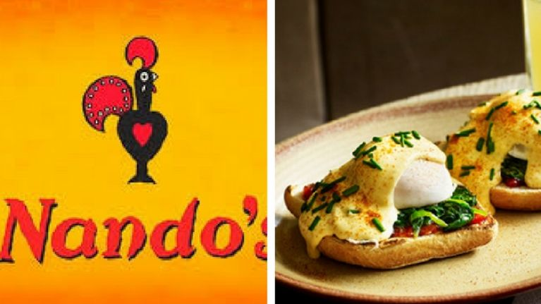 In case you didn't know, you can get breakfast at Nando's – but only at one of its restaurants