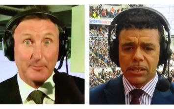 Alan McInally makes cringeworthy moment worse with awful Chris Kamara impression