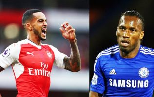 Didier Drogba taunts Theo Walcott after Chelsea's humbling by Arsenal