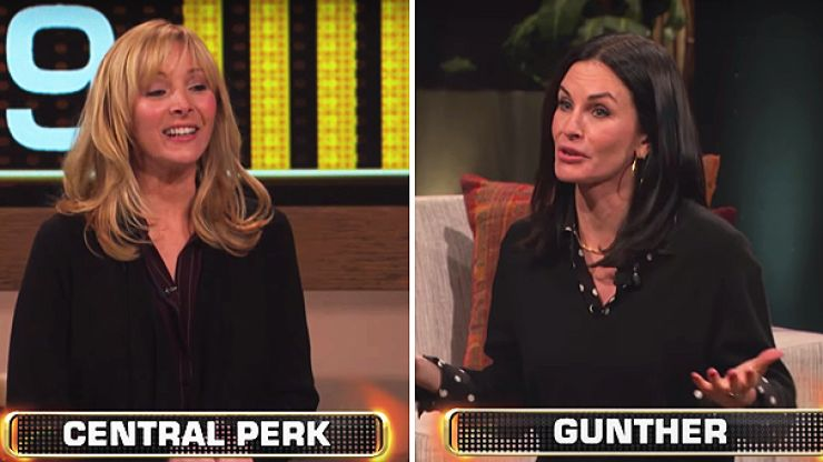 Monica and Phoebe reunite for quick-fire Friends quiz