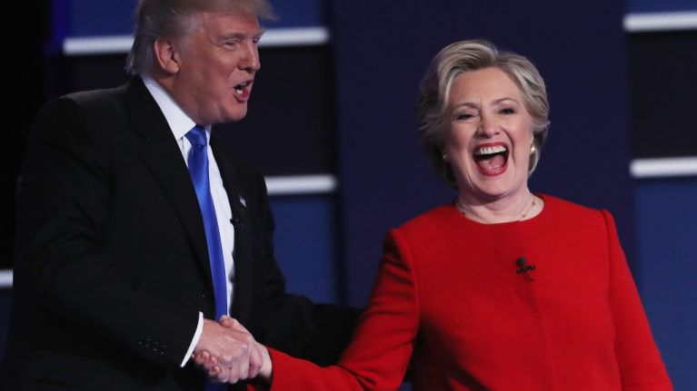 the best tweets about the hillary vs trump presidential debate joe