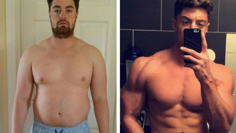 This Tyneside man got ripped after losing his job and his girlfriend