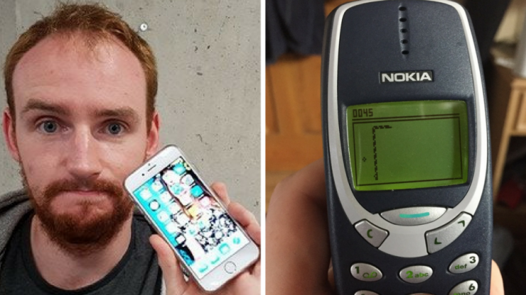 I swapped my iPhone for a Nokia 3310 and learned to live again