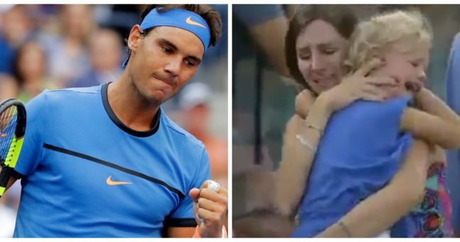 Rafael Nadal stops match so frantic mother can find her ...
