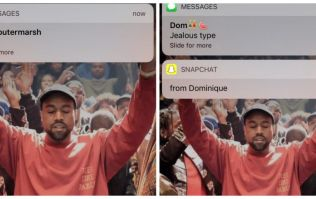 You're doing technology all wrong until you've got Kanye West giving you iPhone notifications