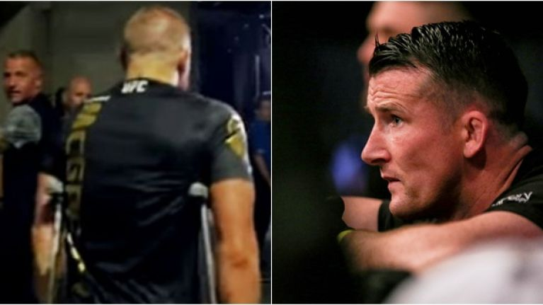 Conor McGregor's coach plays down injury rumours