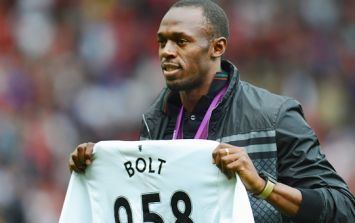 Usain Bolt reveals which Manchester United legend sparked his love affair with the club
