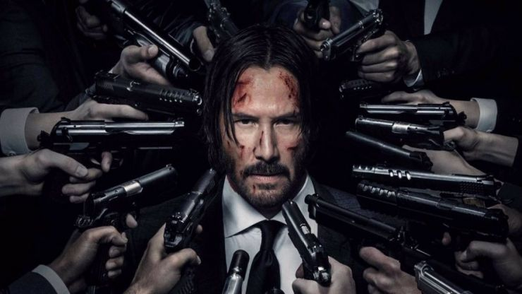 Keanu Reeves looks the fucking business in the new John Wick trailer