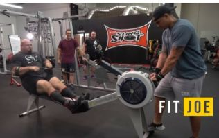 World's Strongest Man smashes 100m rowing world record just for the crack