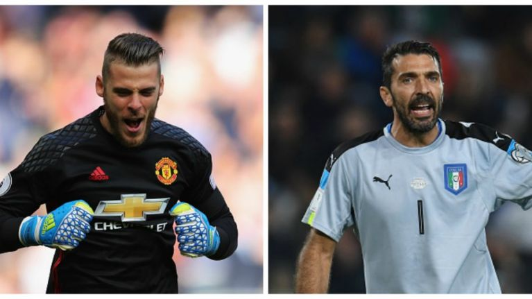 David De Gea could have replaced Buffon at Juventus long before Manchester United move