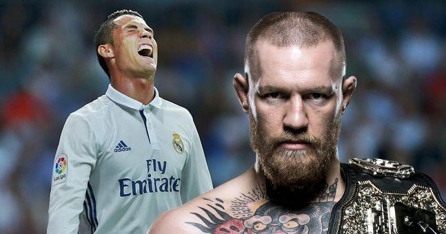 Conor McGregor's coach recounts his meeting with Cristiano Ronaldo at J-Lo's party