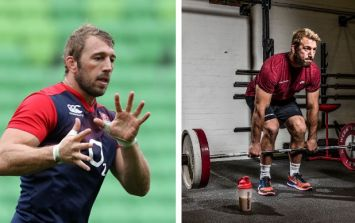 How to pack on muscle mass like England rugby star Chris Robshaw