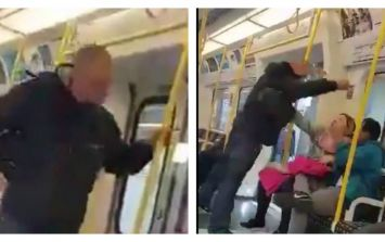 British Transport Police are investigating an apparent racially aggravated assault on the tube