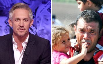 Gary Lineker praised for his cutting response to anti-refugee tweet
