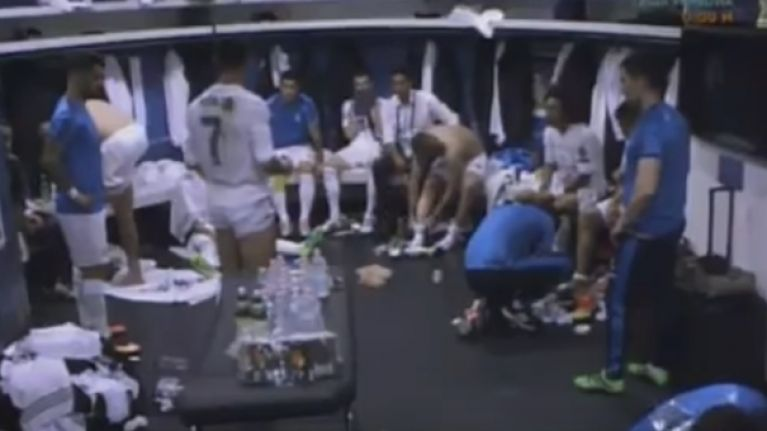 Breaking Down Cristiano Ronaldos Motivational Half Time Changing