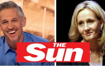 JK Rowling brutally slaps down The Sun's former editor to back up Gary Lineker