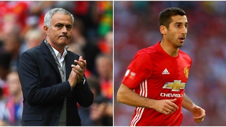 Jose Mourinho explains why Henrikh Mkhitaryan hasn't been playing