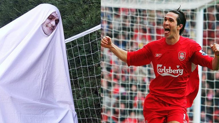 luis garcia trolls chelsea fans with his clever halloween costume