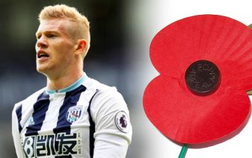 """Politician claims James McClean is """"wrong"""" not to wear poppy"""