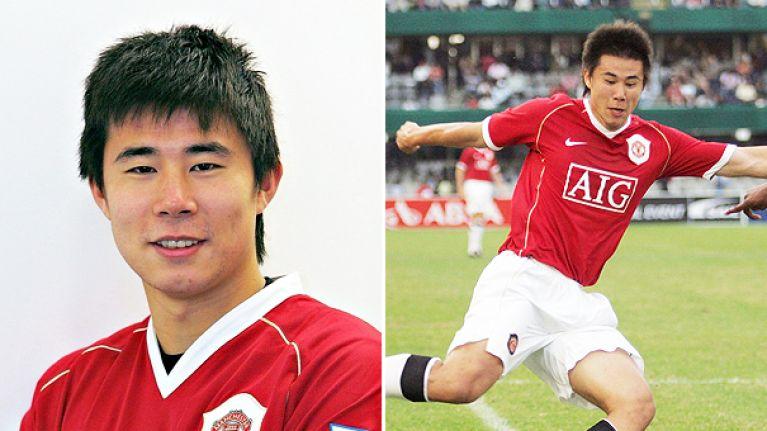 Резултат с изображение за dong fangzhuo manchester united