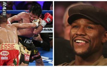 Floyd Mayweather sparks Pacquiao rematch talk after watching his old foe in action