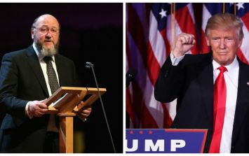 UK Chief Rabbi outright calls Donald Trump a racist on air