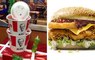KFC have gifted us their first ever Christmas burger and it's clucking amazing