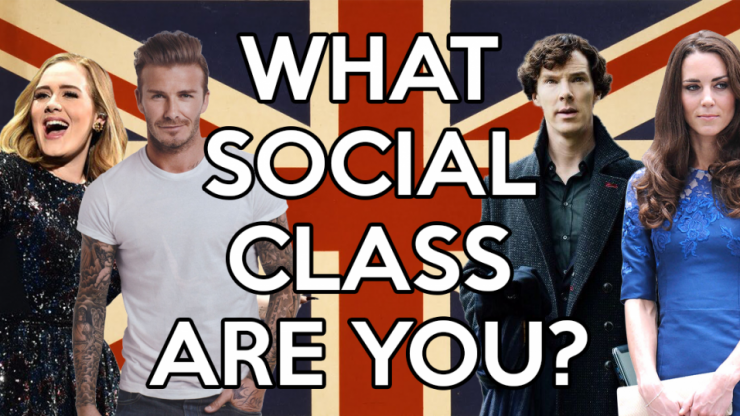 Can we guess what social class you are?