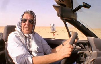 Adverts for Jeremy Clarkson's new show have offended some people who find them 'insensitive'