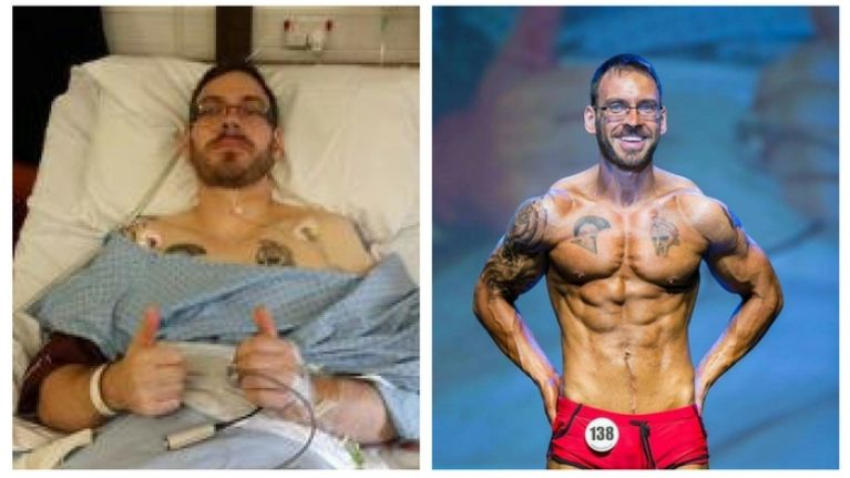 How this man battled back from cancer to become a physique world champion