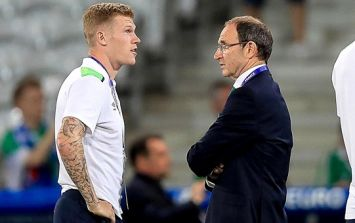 Martin O'Neill had a hilarious take on James McClean's potential to captain Ireland